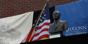 Dodd Prize Bust and Flag