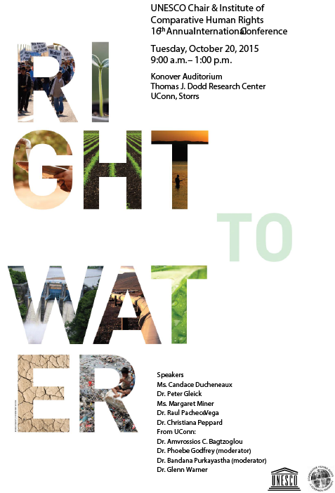 10-20-15 Right to Water Conference Program