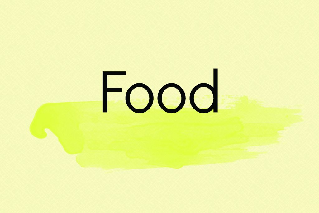 Food Title Card