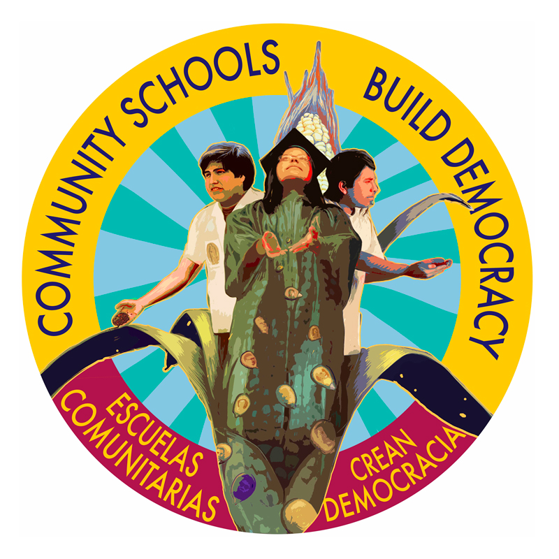Community Schools Build Democracy Badge